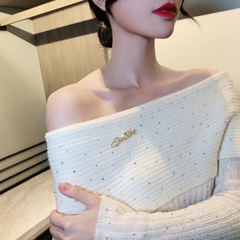 可愛日系ins潮個性別針衣領扣防走光配飾