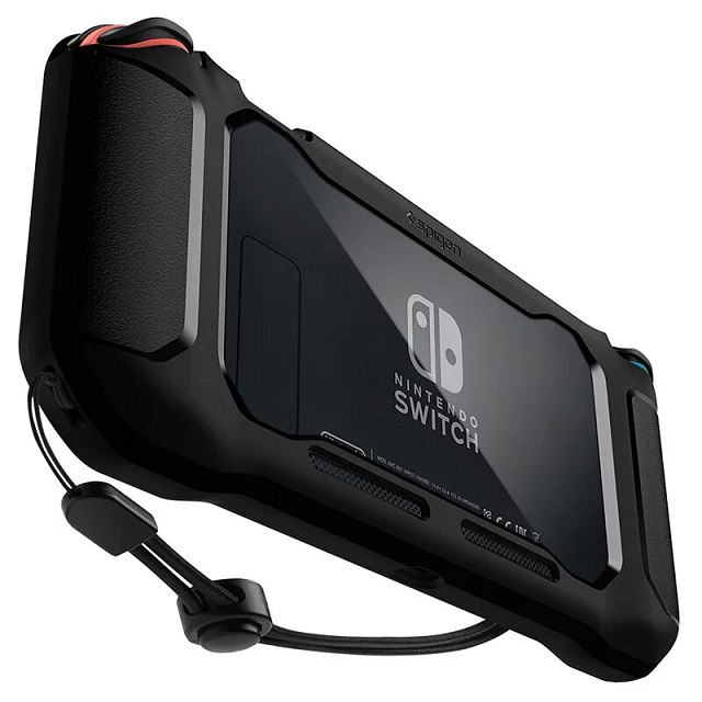 Spigen Nintendo Switch- Rugged Armor 防摔保護殼(黑) ACS01228