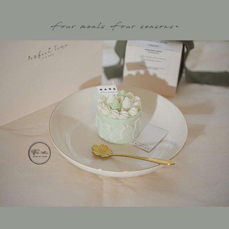 香薰蠟燭 《青莓竹馬》原創小蠟燭香薰可愛少女心禮物臥室無煙生日禮盒浪漫『XY13183』