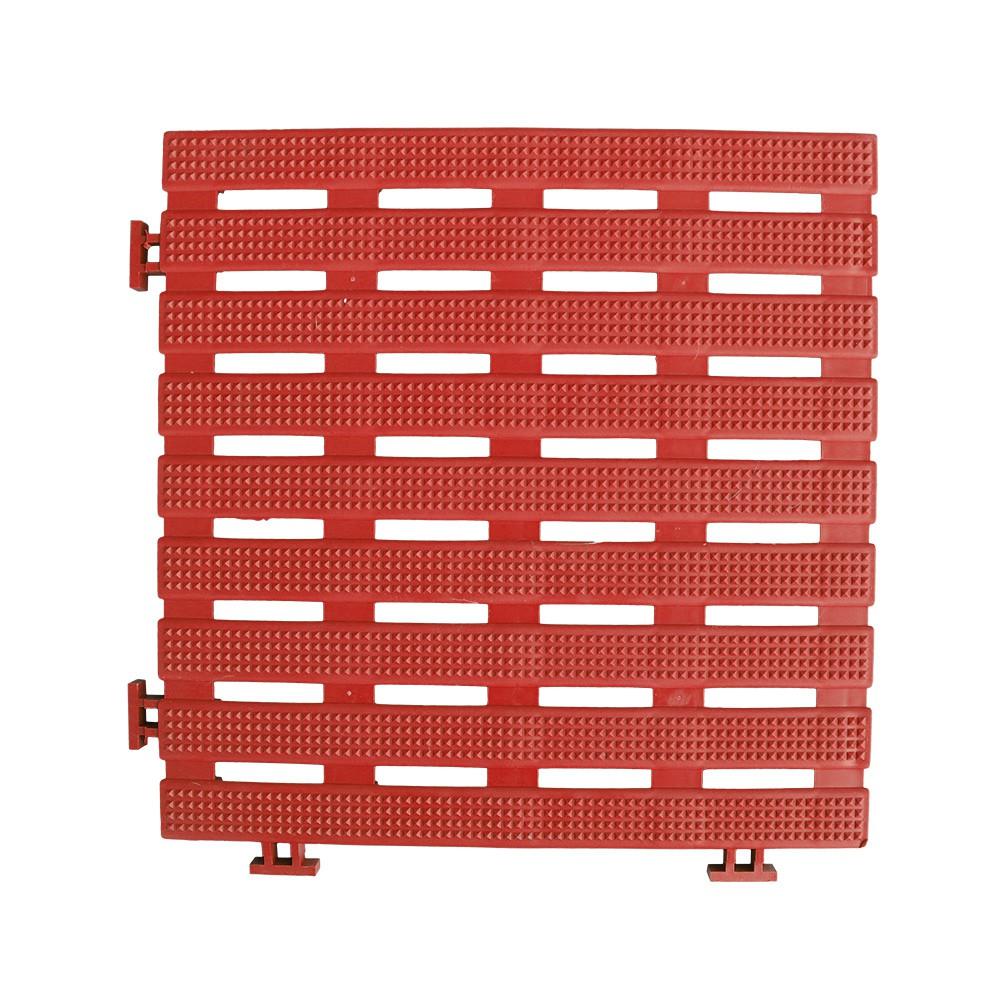 【HB】鑽石紋30CM工作棧板/防滑板/止滑板/排水板【6070015】30X30X1.6公分(4片裝) 4色 台灣製