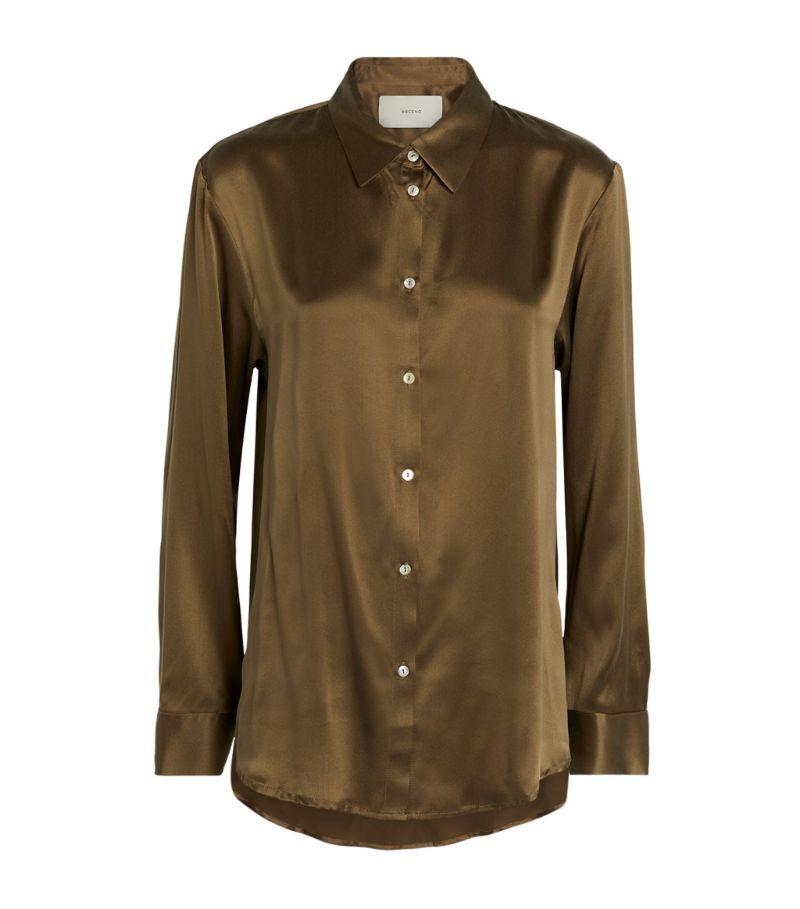 Asceno Silk London Pyjama Top