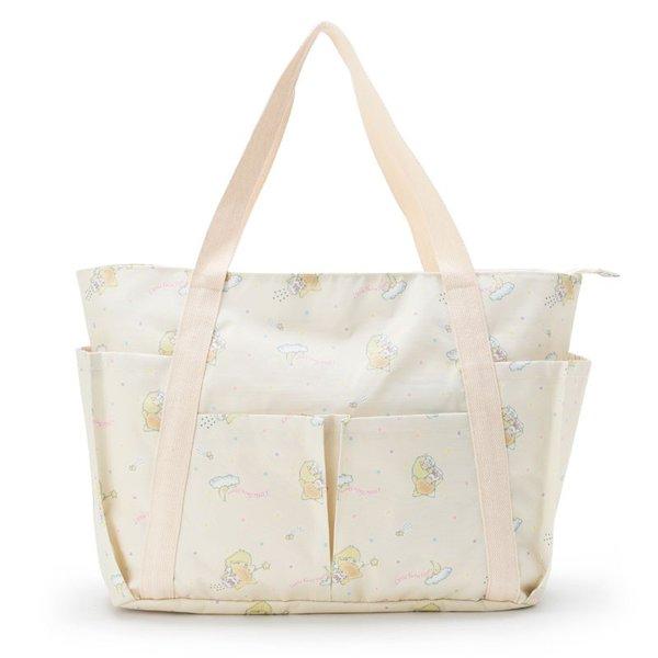 大賀屋 日貨 包包 KITTY 美樂蒂 雙子星 大容量 側背包 旅行包 外出包 三麗鷗 正版 L00010561