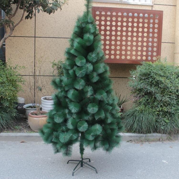 驚!85折!聖誕節裝飾用品鬆針1.5~2.1米聖誕樹聖誕場景布置 加密 新款 【美好時光】
