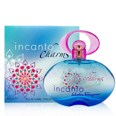 Salvatore Ferragamo Incanto Charms 甜心魔力女性淡香水 100ml
