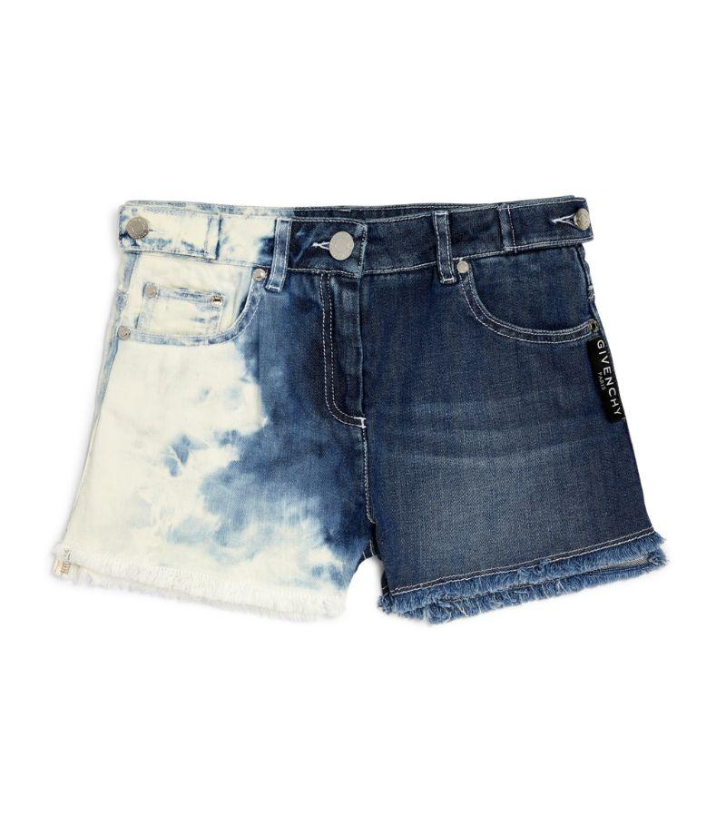 Givenchy Kids Acid Wash Denim Shorts (4-14 Years)