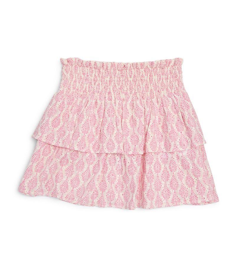 Bonton Leaf Print Skirt (4-12 Years)