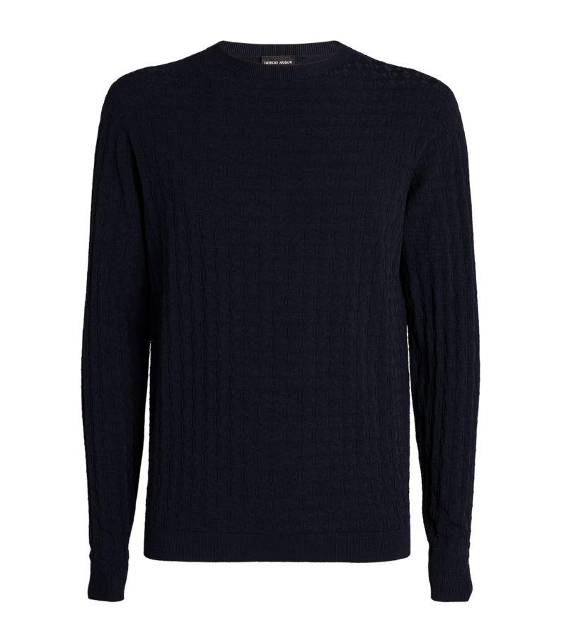 Giorgio Armani Textured Sweater