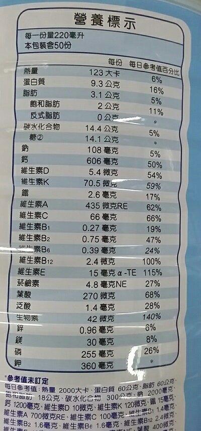 克寧 保鈣低脂配方奶粉(1.5kg/罐) [大買家]