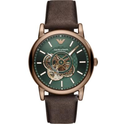 Emporio Armani 經典鏤空機械錶(AR60033)