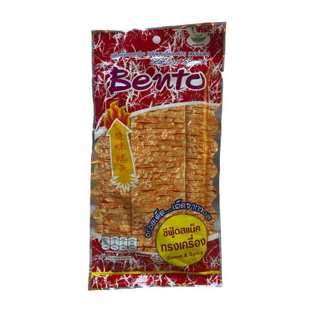 【Bento】泰式碳烤香辣香魷片24g