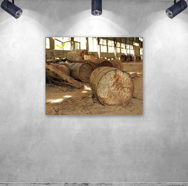 櫻花/無框複製畫/原木實木背框/阿飛攝影A0028