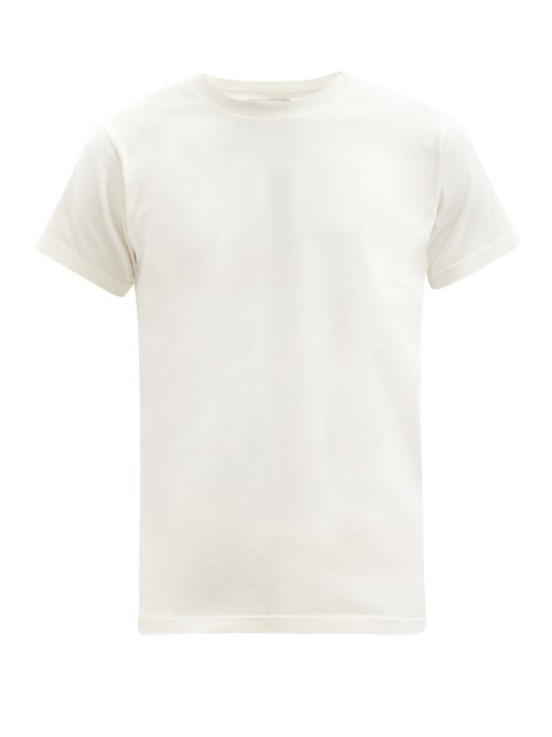 Phipps - Classic Organic-cotton T-shirt - Mens - White