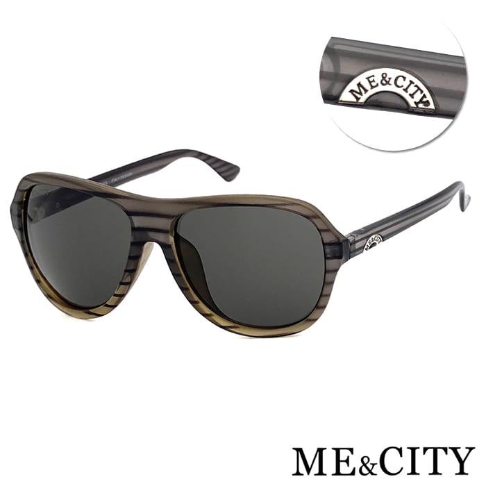 ME&CITY 韓版時尚飛行員太陽眼鏡 抗UV(ME 110015 C502)