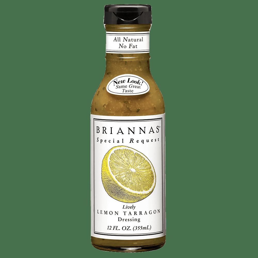 美國BRIANNAS零脂檸檬龍蒿醬Lively Lemon Tarragon (Fat Free) 355ml