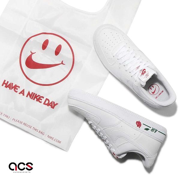 Nike 休閒鞋 Air Force 1 07 LX 玫瑰 白 Rose 男鞋 女鞋 AF1 Have A Nike Day 運動鞋 【ACS】 CU6312-100