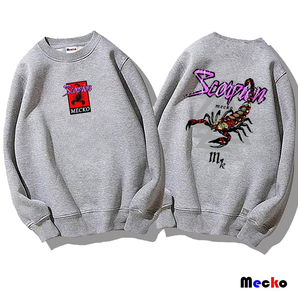 Mecko 帝皇蠍 大學T 長袖上衣 衛衣 (多款設計選擇) AD-95