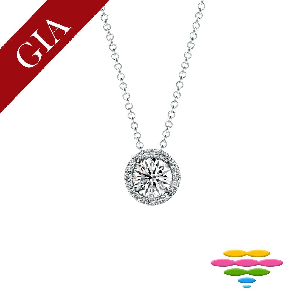 Caramelo 彩糖鑽工坊 GIA 30分 F/SI2 鑽石項鍊