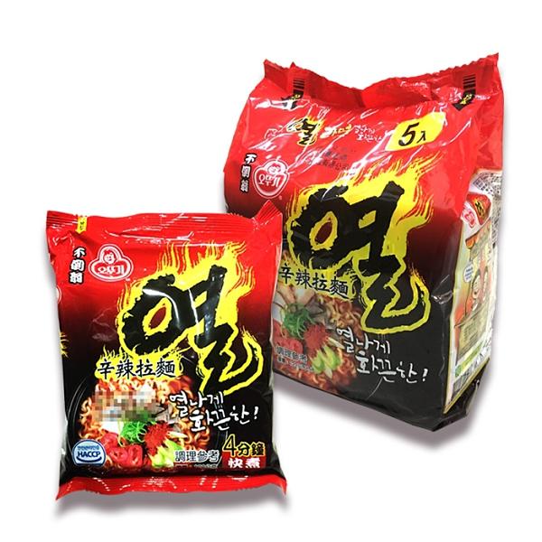 韓國 不倒翁 辛辣拉麵 120g 單包 泡麵 現貨