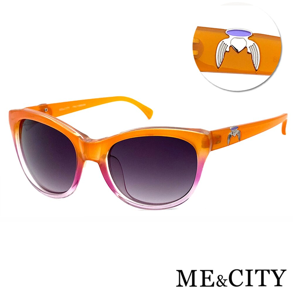 ME&CITY 永恆之翼時尚太陽眼鏡 義大利設計款 抗UV400 (ME 120031 L262)