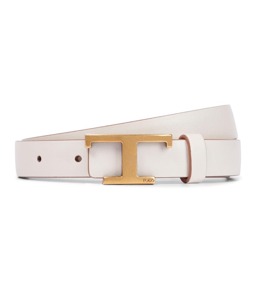 Timeless T reversible leather belt