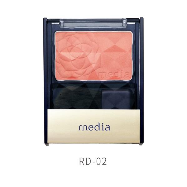 media媚點 優雅玫色修容餅 RD-02【康是美】