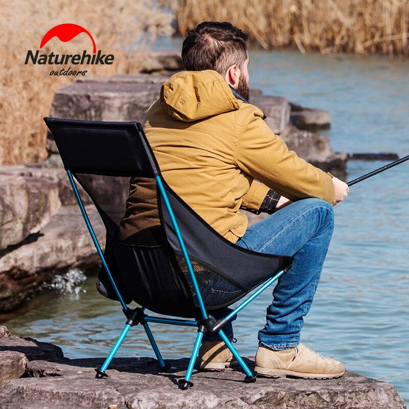 戶外便攜折疊椅子靠背釣魚椅輕便露營沙灘椅休閑寫生月亮椅1愛尚優品