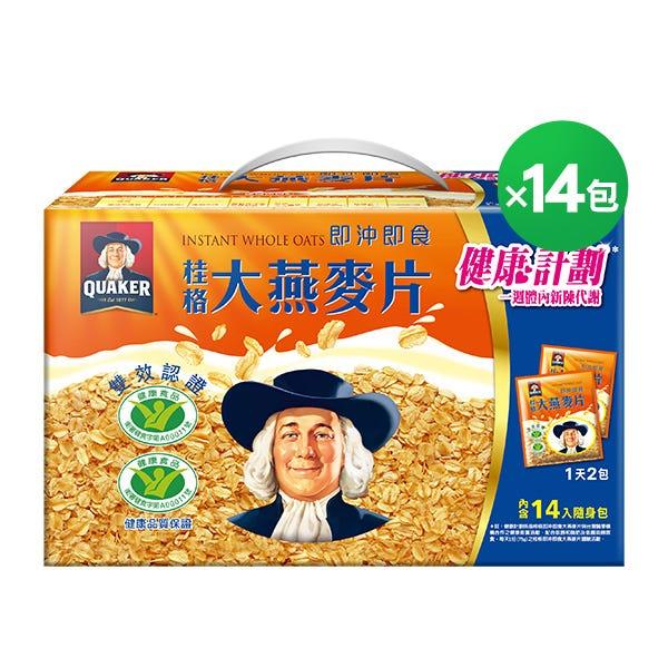 桂格大燕麥片隨身包37.5gX14包