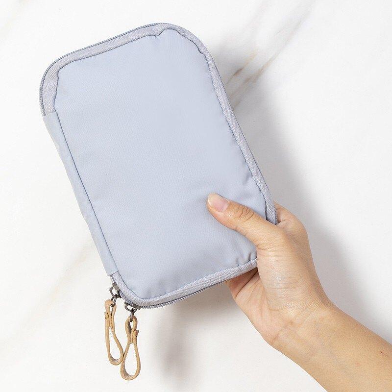 易旅證件收納包家庭家用多層大容量多功能便攜護照文件卡包整理袋1愛尚優品