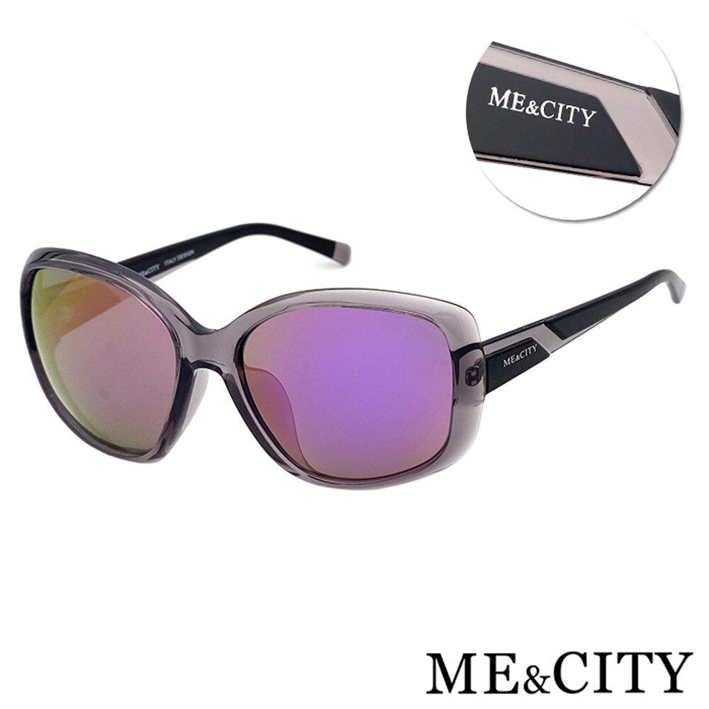ME&CITY 歐美偏光簡約大框太陽眼鏡 抗UV400(ME22002 C01)