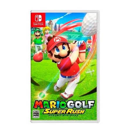 Nintendo Switch《瑪利歐高爾夫 超級衝衝衝》中文版
