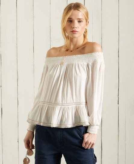Superdry Ameera Off The Shoulder Top