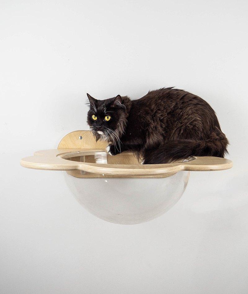 貓吊床壁掛式壁掛貓床貓架子貓樹家具