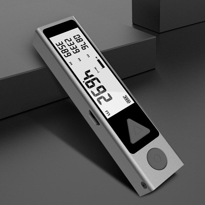 電子測距儀 鐳射測距儀 紅外線測距儀 測距儀 雷射尺 電子尺  微型激光測距儀高精度紅外線電子量房1愛尚優品