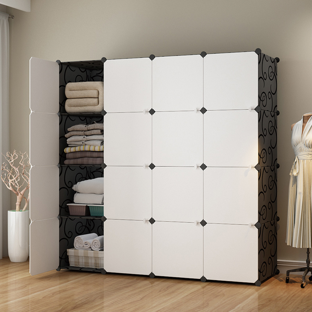 mr.box-加大型16格16門收納櫃/置物櫃/書櫃004009