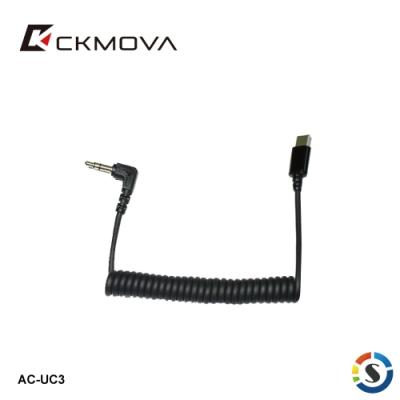 CKMOVA 麥克風轉接線 AC-UC3(Type-C接頭)