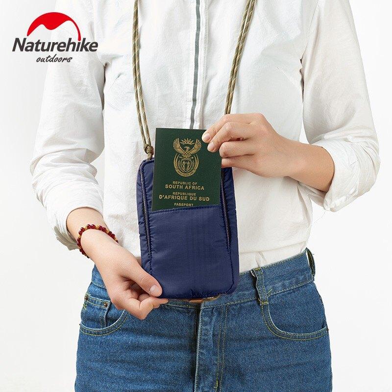 naturehike多功能旅行證件包護照夾保護套機票零錢收納小挎包1愛尚優品