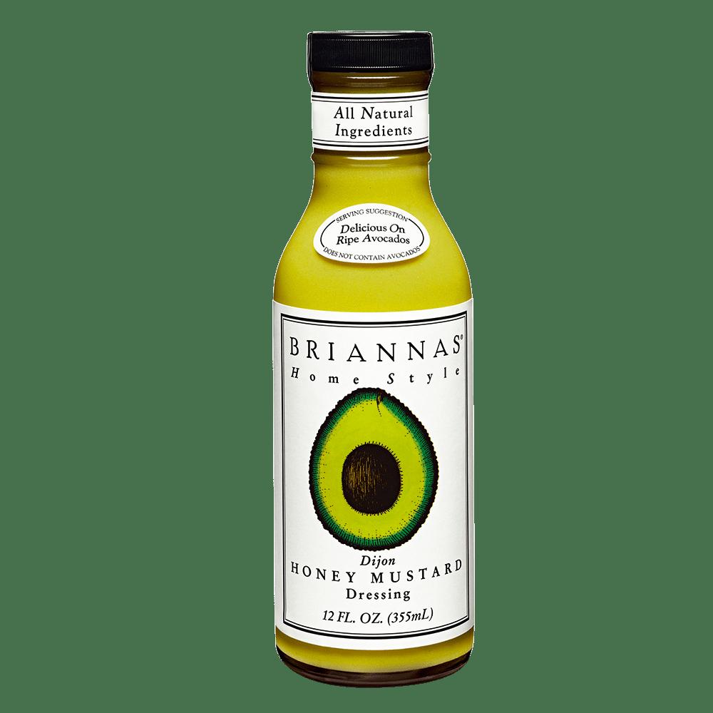 美國BRIANNAS第戎蜂蜜芥末醬 Dijon Honey Mustard 355ml