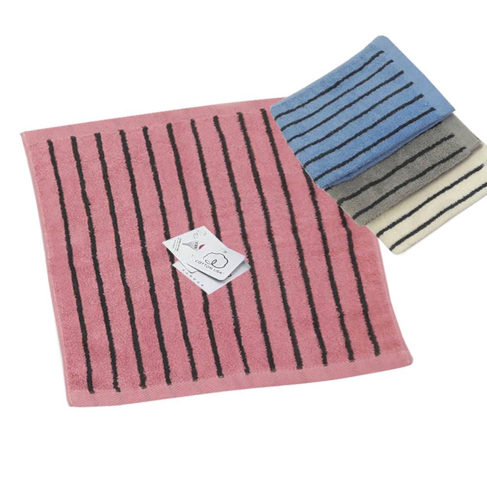 MORINO美國棉色紗彩條方巾【康是美】