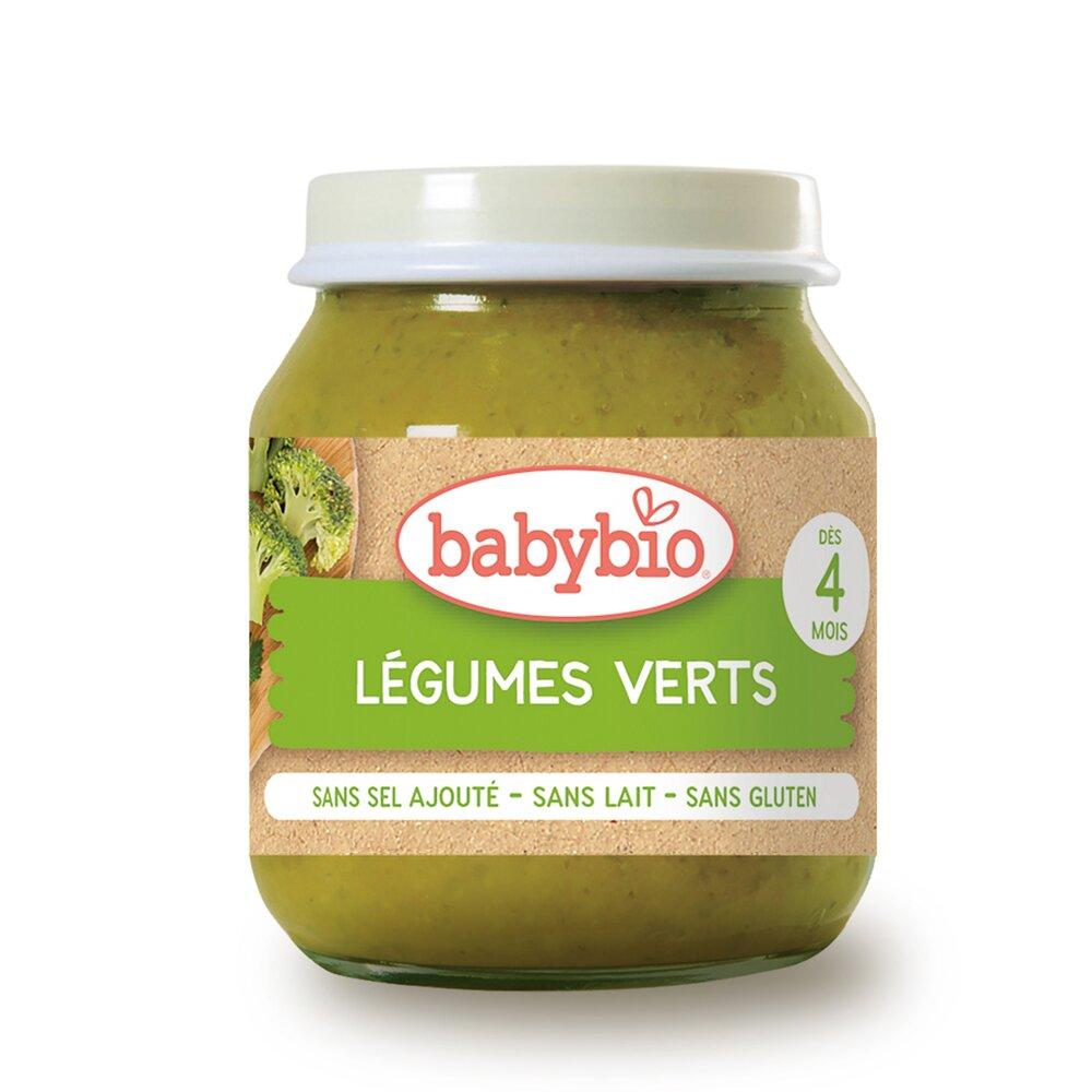 法國Babybio 生機碧綠蔬菜泥130g