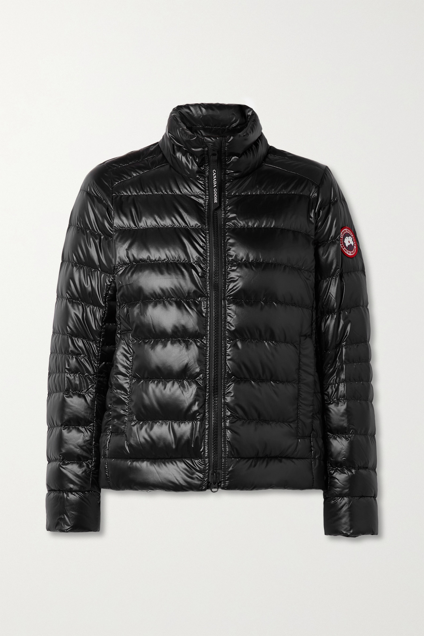 CANADA GOOSE - Cypress Quilted Recycled Ripstop Down Jacket - Black - small