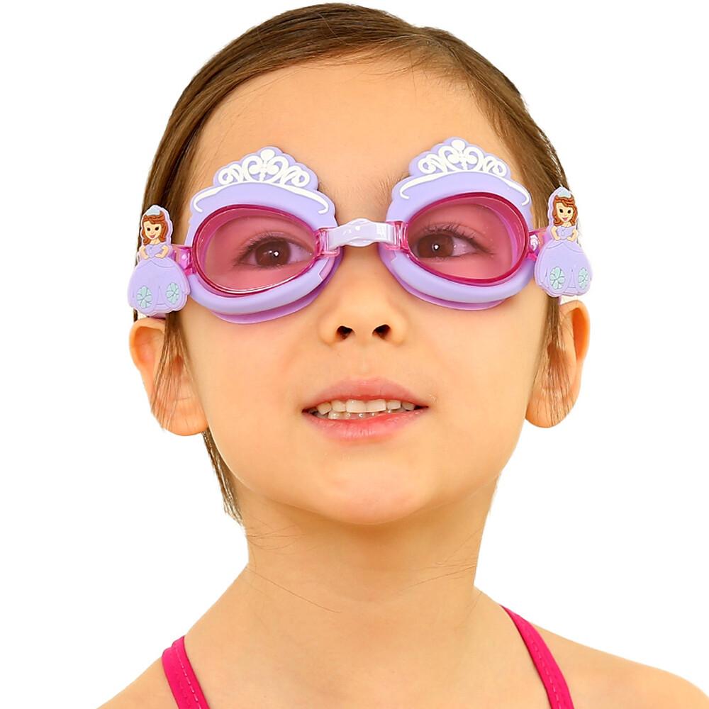 babypark兒童造型泳鏡 迪士尼 hellokitty 湯瑪士 小美人魚 艾莎