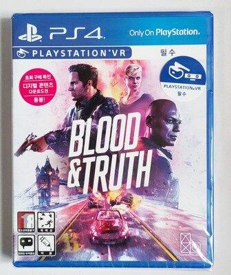 美琪PS4 VR專用遊戲 鮮血與真理 血與真相 Blood & Truth  中文