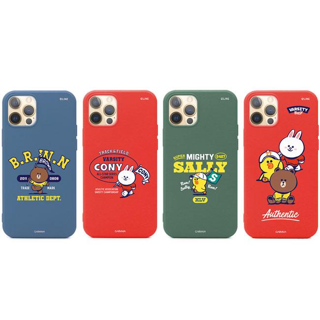 GARMMA LINE FRIENDS iPhone 12 mini/Pro/Pro Max i12 液態硅膠防摔殼