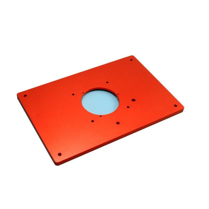 85*85MM通用型電木銑雕刻機倒裝板 豐森木工 倒裝板 木工倒裝板 修邊機倒裝板 底板 電木銑倒裝板1愛尚優品