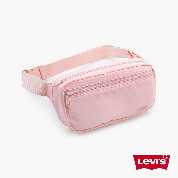 Levis 男女同款 機能腰包 / 質感Logo刺繡細節 / 回收再造纖維 / 甜美粉