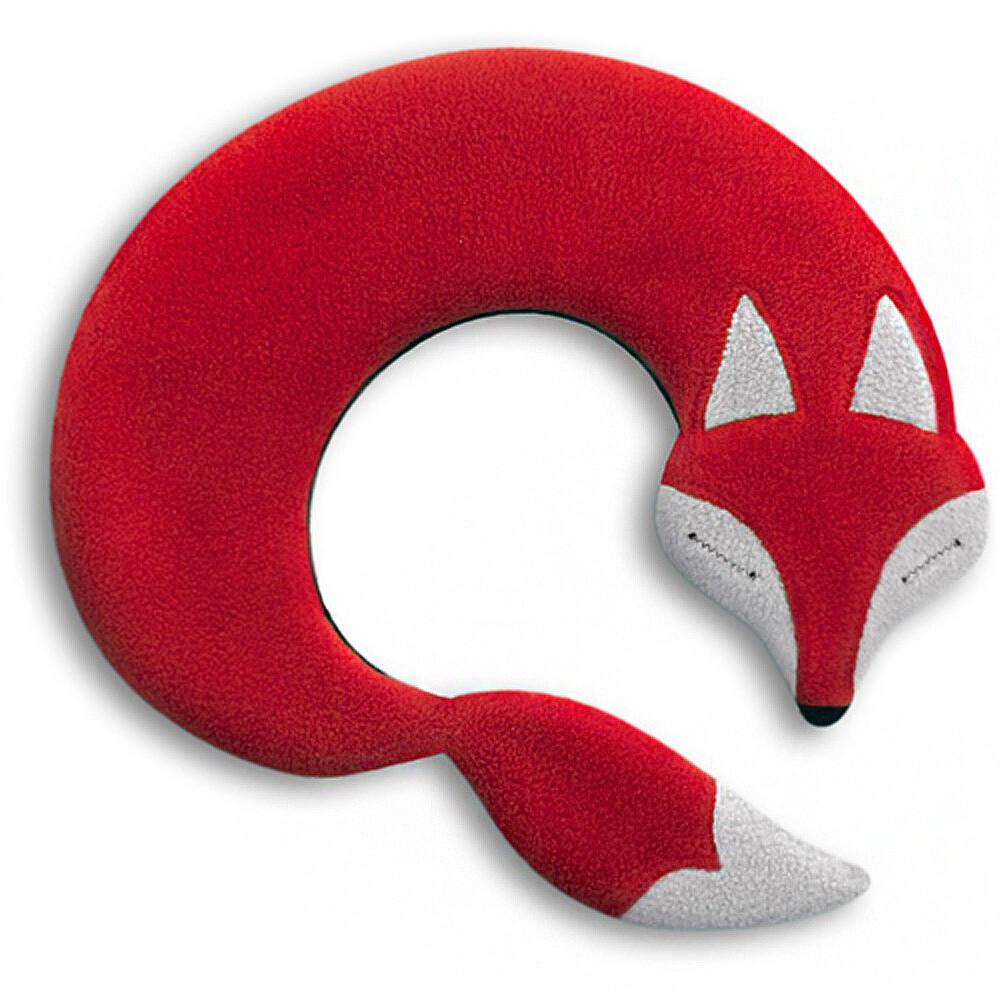 德國萊思綺leschi舒緩肩頸熱敷/冷敷袋(狐狸造型-紅色)