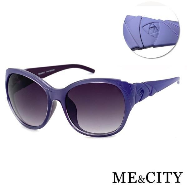 【SUNS】ME&CITY 古典花園玫瑰大框太陽眼鏡 義大利設計款 抗UV400 (ME 120032 H230)