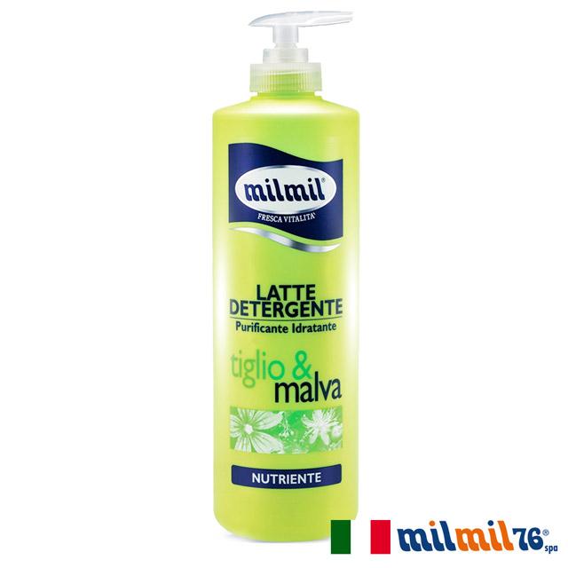 【義大利MILMIL】植萃水感溫和柔嫩清潔乳(各種肌膚)500ml
