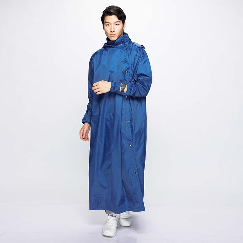 Slashie 斜前開雨衣_PVC版本-青瓷藍 XL