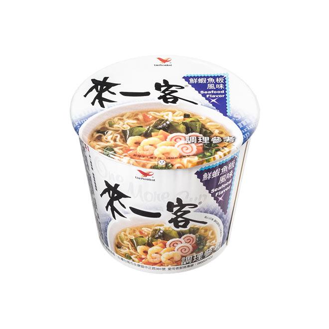 來一客鮮蝦魚板風味杯麵